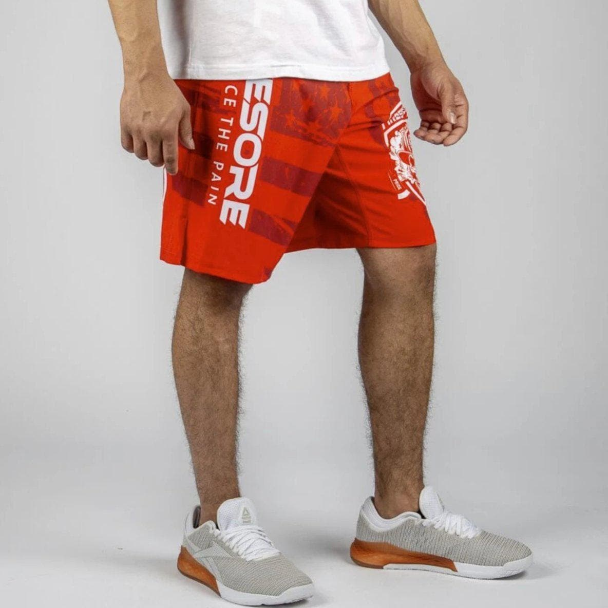 FIRE FIGHTER 1st Responder WOD Shorts-Mens Apparel,Mens Shorts-Livesore.net