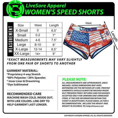 HIGHLY AGGRESSIVE 2-Tone Speed Shorts