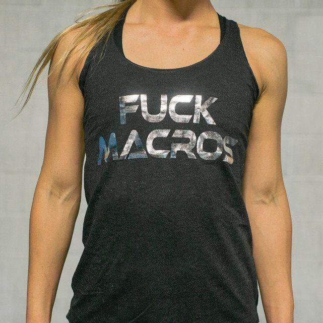 Fuck Macros Tank-Womens Apparel,Womens Tanks-Livesore.net