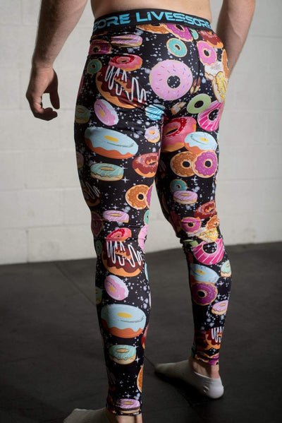 Galaxy Donut Compression Pants: (Limited Edition)