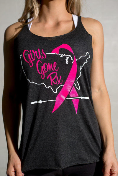 Girls Gone RX Black Tank Top CLOSE OUT