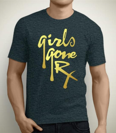 Girls Gone RX Gold Foil T-Shirt CLOSE OUT
