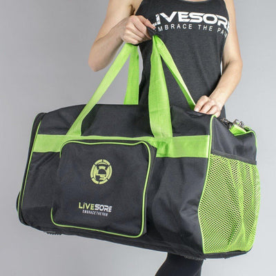Athlete Duffel Bag Green & Black LiveSore