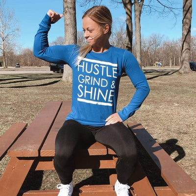 Hustle, Shine, & Grind Thermal