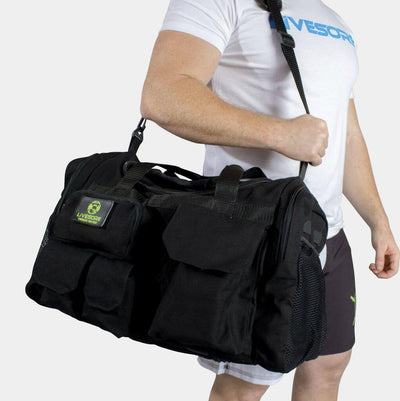"EMBRACE THE PAIN ""BLACK OPS"" HEMP DUFFEL BAG"