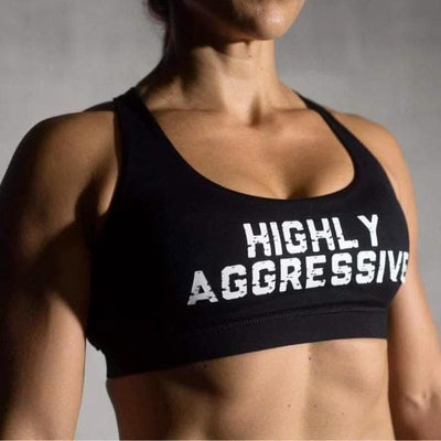 HIGHLY AGGRESSIVE 4-Strap Elegance Bra