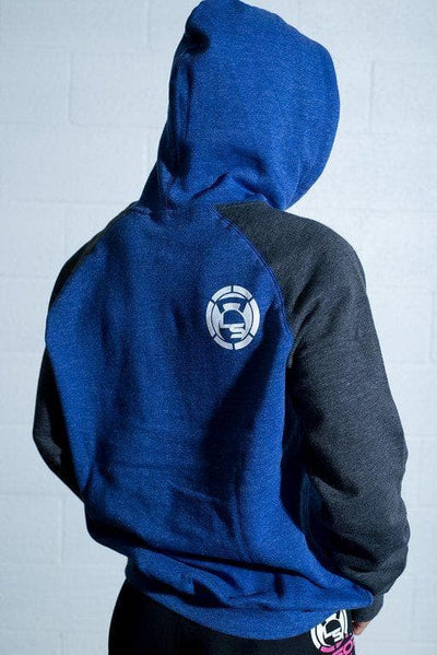 Hustle, Grind and Shine Unisex Ragland Hoodie
