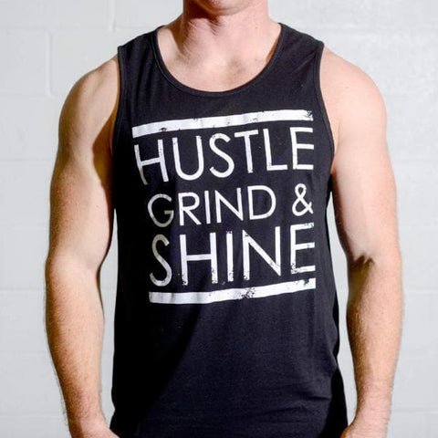 Hustle, Grind & Shine Tank Top