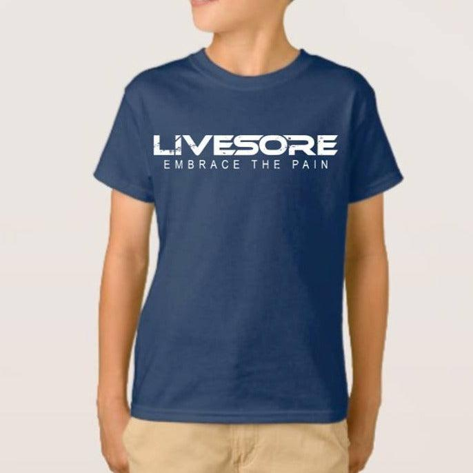 "Kids INHALE CONFIDENCE T-Shirt ""CLOSEOUT""-Kid's-Livesore.net"