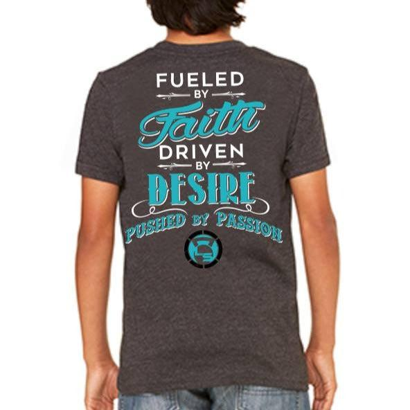 "Kids FUELED BY FAITH T-Shirt ""CLOSEOUT""-Kid's-Livesore.net"