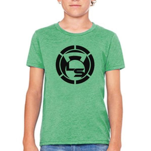 "Kids GREEN LIVESORE LOGO T-Shirt ""CLOSEOUT""-Kid's-Livesore.net"