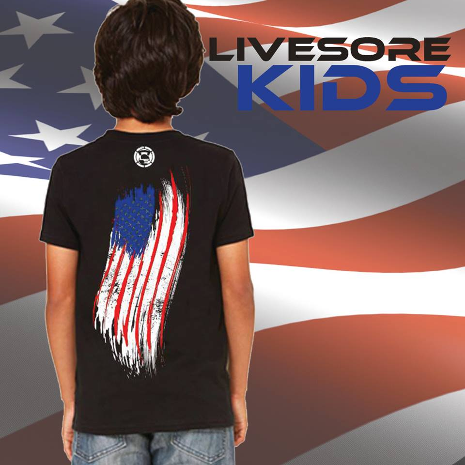 "Kids DOG TAG T-Shirt ""CLOSEOUT""-Kid's-Livesore.net"