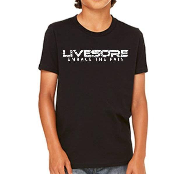 "Kids MERICAN MUSCLE T-Shirt ""CLOSEOUT""-Kid's-Livesore.net"