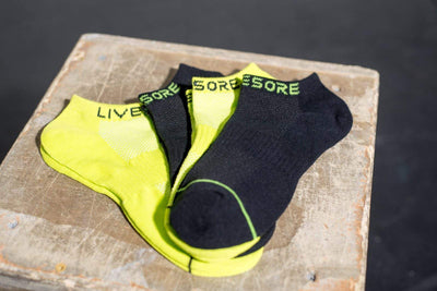 LiveSore Ankle Socks (3-Pack)