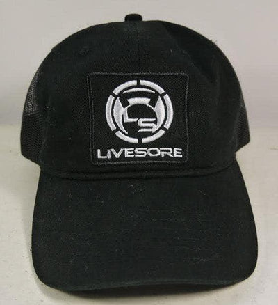 LiveSore Logo Patch Hybrid Soft Trucker Hat