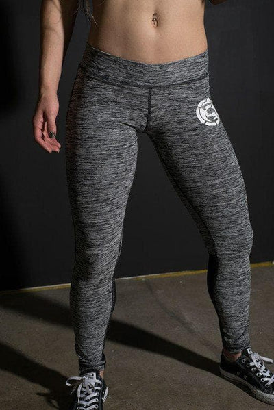 Marble Gray Mesh Leggings