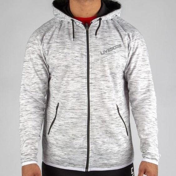 Marble Gray Mid-Weight Hoodie