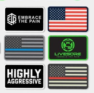 PATCHES - Velcro Backed Assortment
