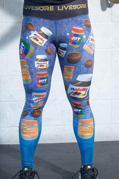 "Peanut Butter Party ""Balance"" Compression Pants"