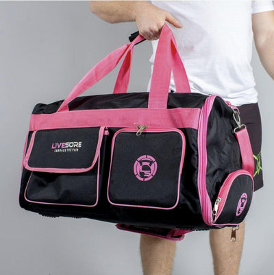 Athlete Duffel Bag Black & Pink LiveSore LIMITED-EDITION