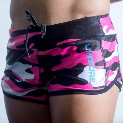 Pink Camo Speed Shorts