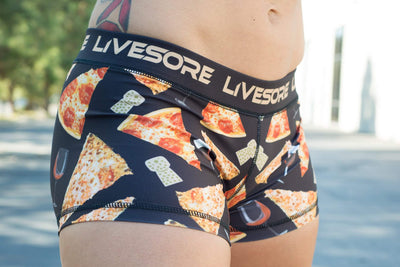 Pizza Party Booty Shorts Limited Edition