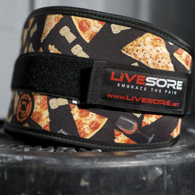 Pizza Party Weight Belt