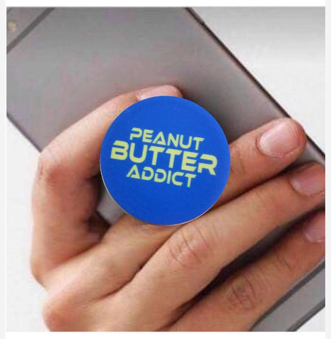 "PEANUT BUTTER ADDICT Phone Grip ""Pop Socket"""