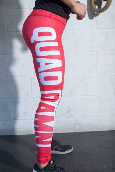 QUAD DAMN Compression Pants
