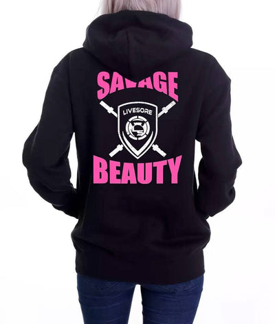 "Savage Beauty ""Voyager"" Shield Hoodie"