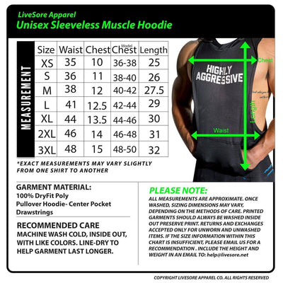 Fit Tits #FITTITS Sleeveless Muscle Hoodie