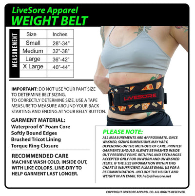 Wonder Women Weight Belt - LIMITED EDITION