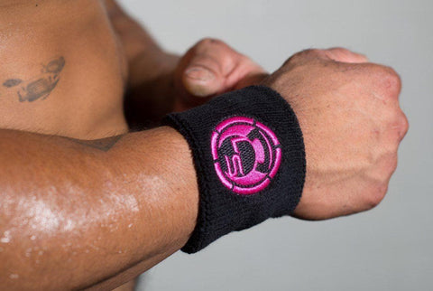 Pink Logo Sweatbands