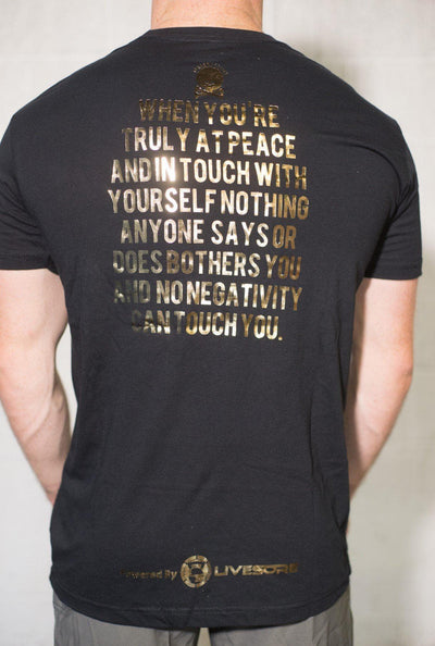 Unfuckwithable Mens Gold Foil T-Shirt