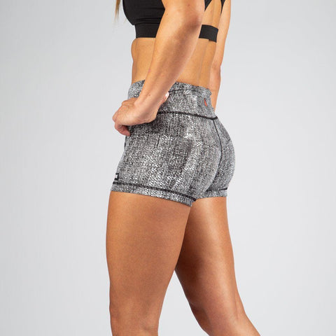 FIRE No-Rise Booty Shorts - TEXTILE