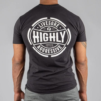 Highly Aggressive Retro Men's T-Shirt