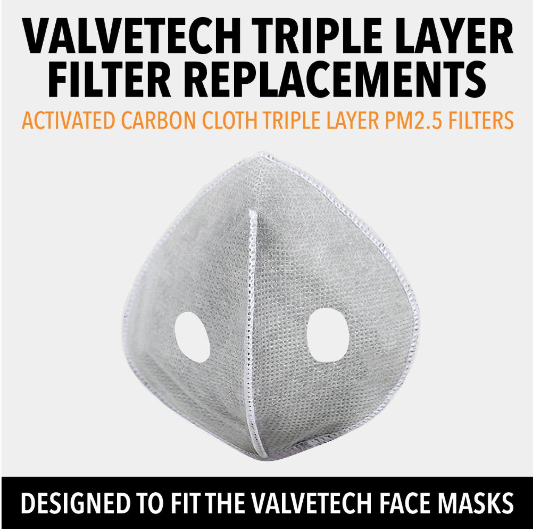 VALVETECH TRIPLE LAYER FILTER REPLACEMENTS