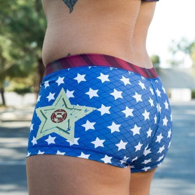 Wonder Woman Booty Shorts Limited Edition