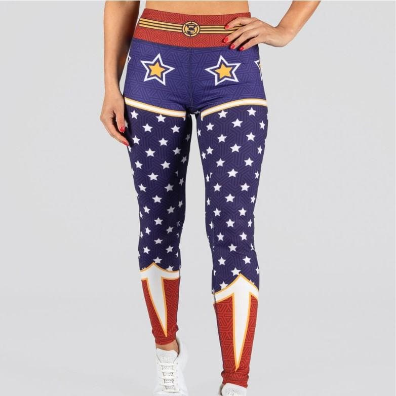 FIRE Booty Leggings - WONDER WOMEN