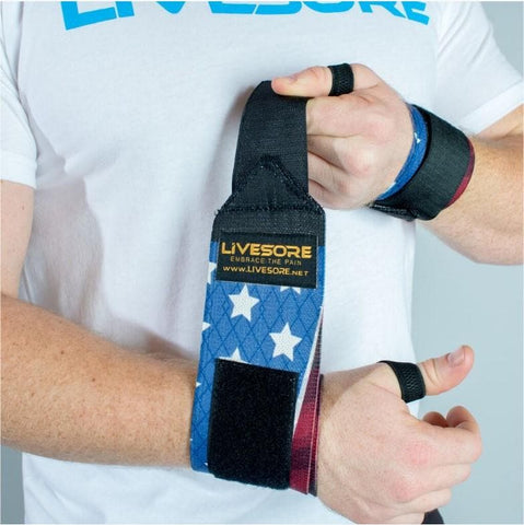 Wonder Woman Velcro Wrist Wraps