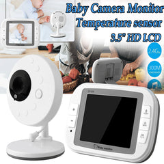 Baby infant Monitor With video And Audio Digital Camera, Long Range Wifi, Room Temperature, Infrared Night Vision,