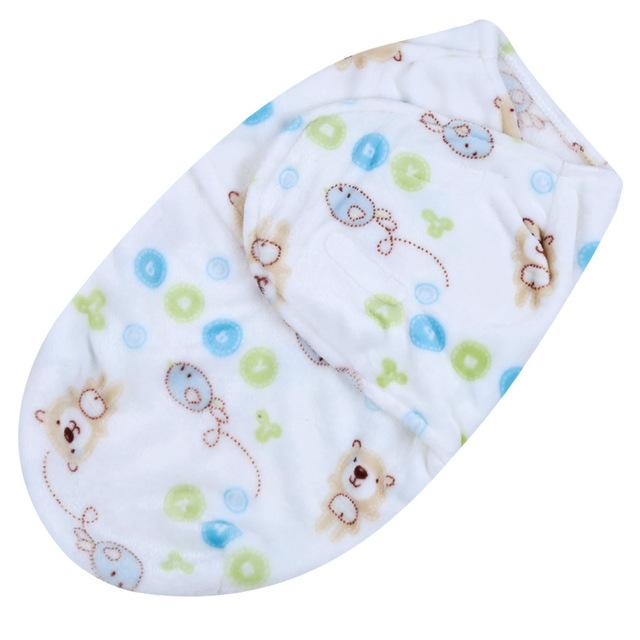 Lovely Baby Swaddle Wrap Soft Envelope Newborn Baby Blankets