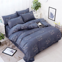 3D Bedding Sets Star Galaxy Duvet Cover Set