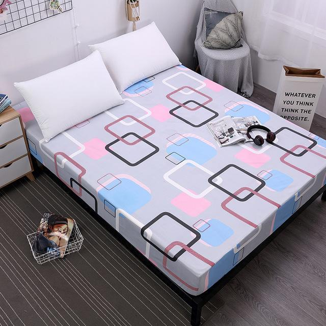 ... Duvet Covers   New Printing Bed Mattress Cover Waterproof Mattress  Protector Pad Fitted Sheet Separated Water