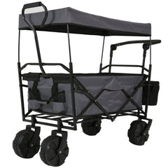 Beach Trolley With Canopy