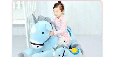Large Stuffed Unicorn - 50/70CM Giant Pink/blue Unicorn Plush Toy Plush Stuffed Animal Horse Unicorn High Quality Kids Birthday Gift