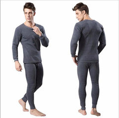 Long Johns - Men's Thermal Underwear Sets Winter Warm Men's Underwear Men's Thick Thermal Underwear Long Johns 4XL