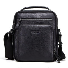 Men Genuine Leather Men Shoulder Bag