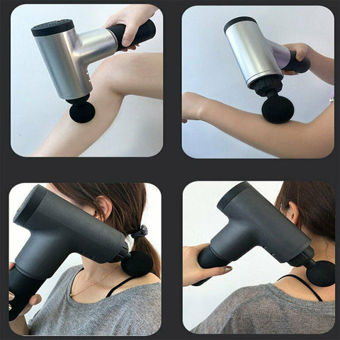 Muscle Massager Deep Tissue Percussion Vibration Massage Gun For Athletes & Professionals Use for Body Aches & Workout