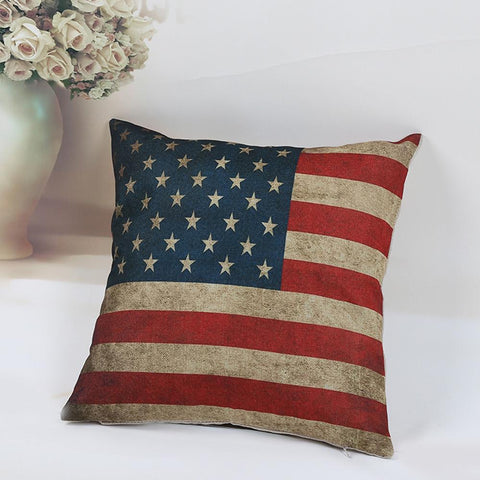 Pillow Cases - American National Flag Pillow Case
